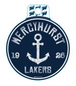 Decal - Mercyhurst Anchor Sticker