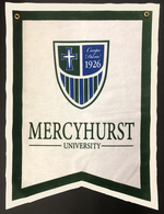 Pennant - Dovetail Banner 18x24 Shield Logo
