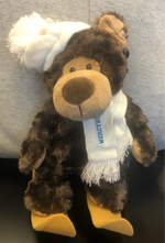 Bear - Cozie with Hat/Scarf/Skis
