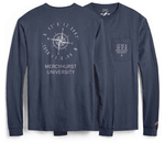 Long Sleeve T - Pocket Longitude & Latitude