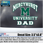 Decal - Mercyhurst DAD
