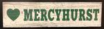 Mercyhurst Stick Wooden Magnet