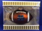 Ornament - Football w/M Logo