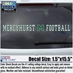 Decal - Mercyhurst M Football