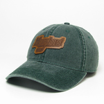 Hat - Hockey Leather Patch