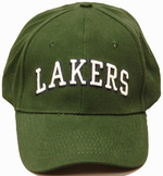 Hat - LAKERS White Puff