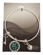 Bracelet - Bangle MU Key Heart