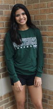 Long Sleeve T - Mercyhurst Lakers w/Block M Logo