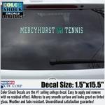 Decal - Mercyhurst M Tennis