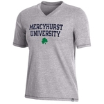 T-Shirt - Womens Bi-Blend w/MU Shamrock