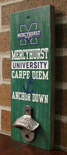 Bottle Opener - Anchor Down Wall Sign