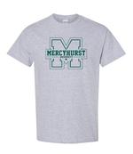 T-Shirt - Block M Outline