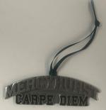 Ornament - Pewter Mercyhurst Carpe Diem