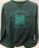 Crewneck - Mercyhurst M University Heathered Terry
