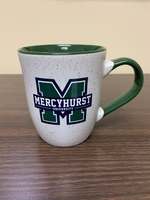 Mug - 16 oz. M Logo Granite w/Green Handle