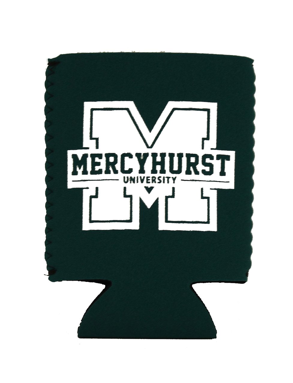 Can Cooler Block M Logo Mercyhurst University Bookstore