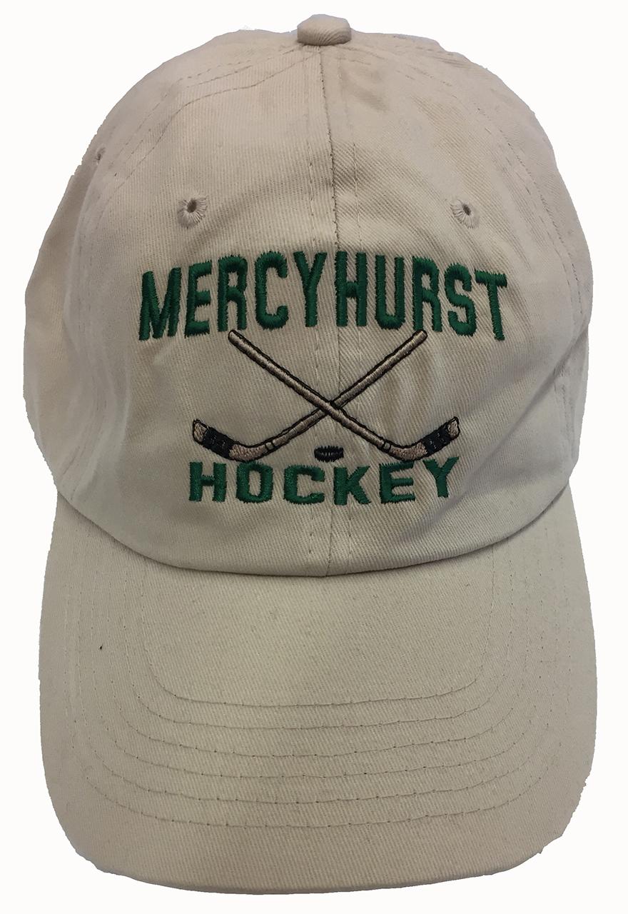 0187ef592d91 Hat - Hockey w Crossed Sticks